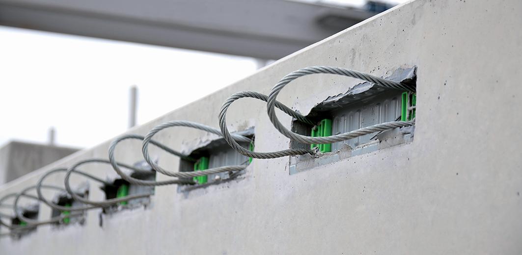 Łączniki zbrojeniowe FS-Box PFEIFER do  ścian zespolonych