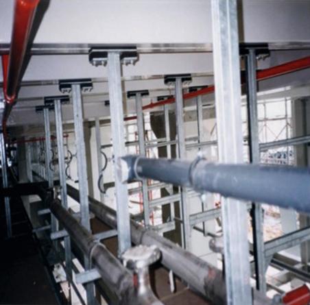 Wibroizolacja maszyn i urządzeń technicznych CALENBERG