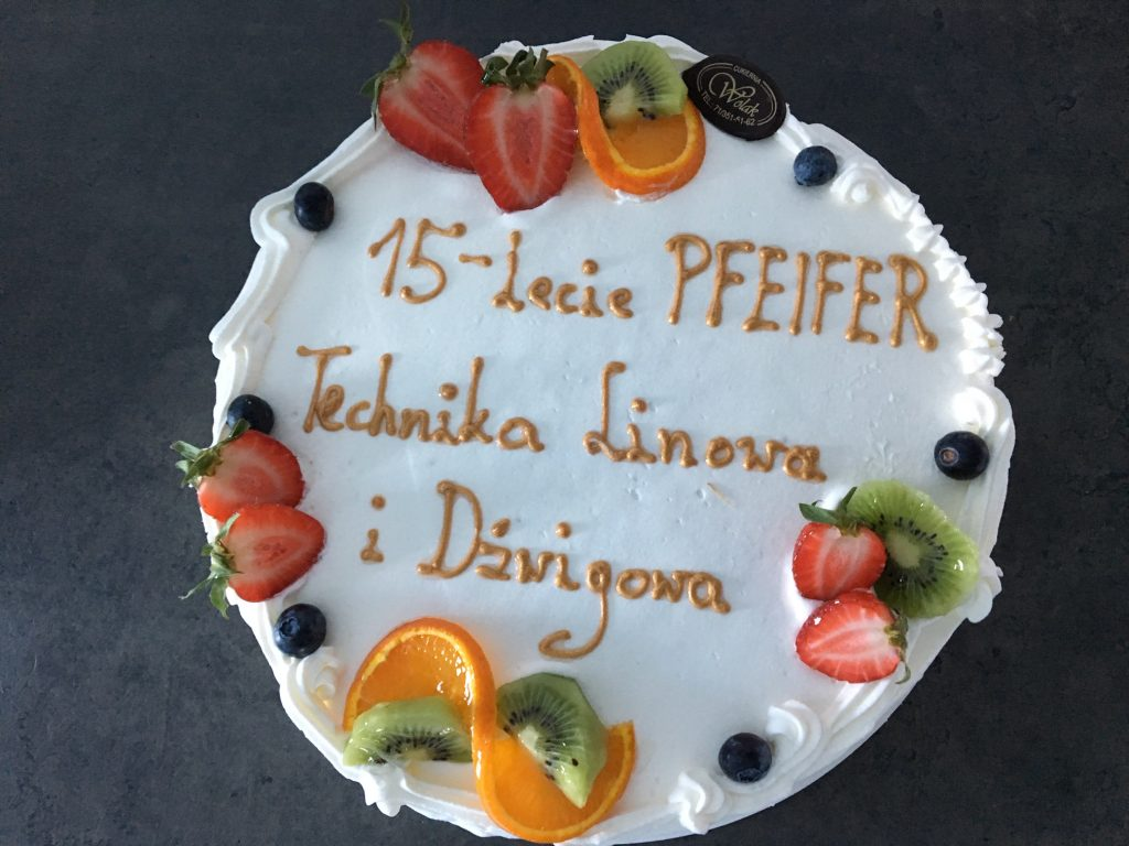 PFEIFER Technika Linowa i Dźwigowa już od 15 lat w Polsce!
